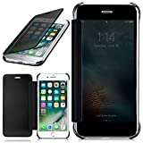moex Apple iPhone 7/8 | Hülle Transparent TPU Void Cover Dünne Schutzhülle Anthrazit Handyhülle für iPhone 7/8 Case Ultra-Slim Handy-Tasche mit Sicht-Fenster