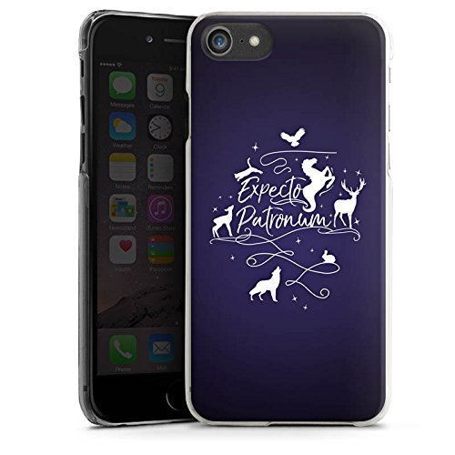 Apple iPhone 8 Hülle Case Handyhülle Expecto Patronum Harry Potter Statement Hard Case transparent