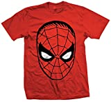 Marvel Comics Herren Spider Man Short Sleeve T-Shirt Gr. Medium, Rot