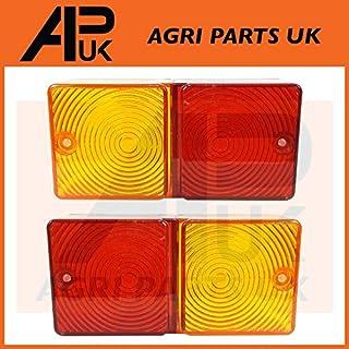 APUK Tractor Rear Light Lenses 2600 3600 4110 4600 5610 6610 7610 New Holland