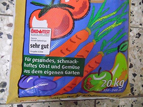 OSCORNA Animalin Gartendünger 20 kg - 2