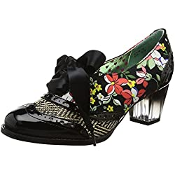 Poetic Licence by Irregular Choice Corporate Beauty, Damen Pumps, mehrfarbig (Black), 39 EU