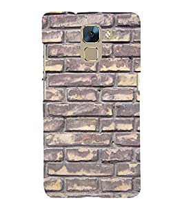 EPICCASE Painted brick wall Mobile Back Case Cover For Huawei Honor 7 (Designer Case)