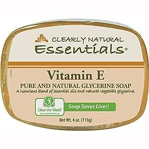 clearly natural essentials glycerin bar soap 4 oz vitamin. Black Bedroom Furniture Sets. Home Design Ideas