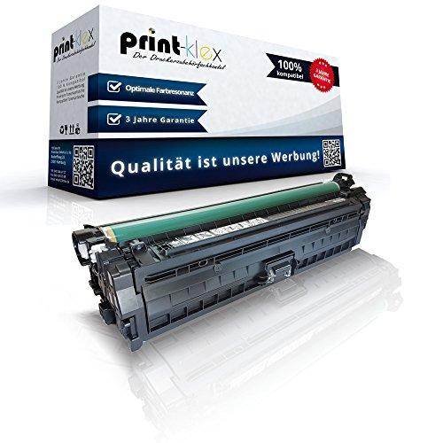Print-Klex Kompatible Tonerkartusche für HP Color LaserJet CP5200 CP5220 Series CP5220 CP5225 CP-5225 DN CP5225 N CP5225 XH Professional CE740 CE740A Schwarz Black (Hp Cp5225 Toner)