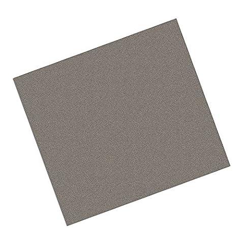 tapecase 21x 12–6-3m AB5010schwarz Acryl selbstklebend EMI Absorber, 21x 30,5cm Rechtecke (12 Stück Schwarze Acryl)