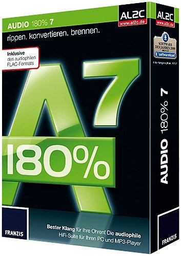 FRANZIS Copy-Suite (Alcohol Virtual DVD+CD 7 & Audio 180% V.4.0)