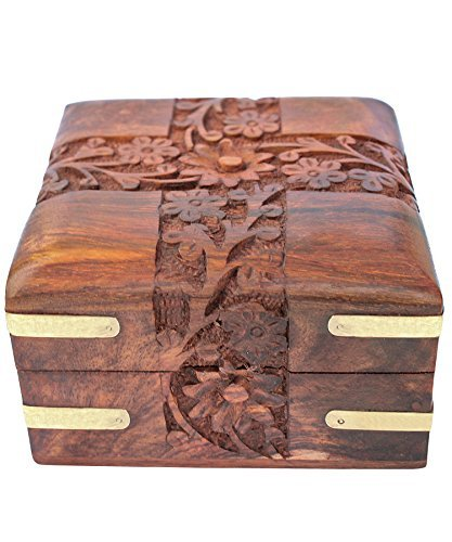 mothers-day-gifts-for-mum-indian-highly-carved-beautiful-intrinsic-design-decorative-jewellery-box-w