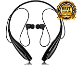 #6: Meya Happy HBS 730 Neckband Wireless Bluetooth Headphones / Headset with Mic For Mobiles / Tablets