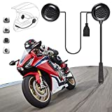 Yaoaoden Wireless-Motorrad-Sturzhelm-Kopfhörer-E1 Csr Chip Automatische Antwort Telefon Musik-Schwarz