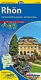 ADFC-Regionalkarte Rhön mit Tagestouren-Vorschlägen, 1:75.000, reiß- und wetterfest, GPS-Tracks Download: Von Bad Hersfeld bis Gmünden - mit Fulda-Radweg (ADFC-Regionalkarte 1:75000)