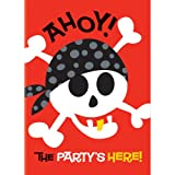 Unique Party Supplies Pirat Fun Bday FL BNR 12 ft-lf