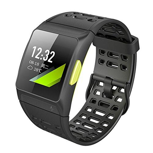 XHL Art P1 Armbänder IP67 Wasserdicht Smart Armband Pulsmesser Fitness Tracker Smart Armband GPS Mehrere Sport-Modus