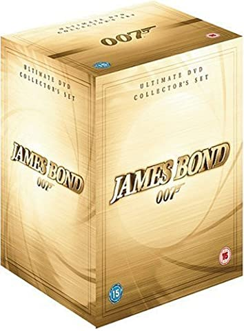 James Bond Collection - 42-DVD Box Set ( Casino Royale / Die Another Day / The World Is Not Enough / Tomorrow Never Dies / GoldenEye / Licence to Kill / The Living Daylights / A Vi [ Origine UK, Sans Langue Francaise ]