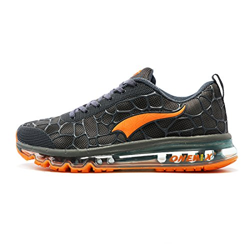 ONEMIX Trail Running Shoes Men - Leggero Air Max per Walking Gym Jogging Fitness Athletic Outdoor Sport Sneaker da Ginnastica - HLJ 47