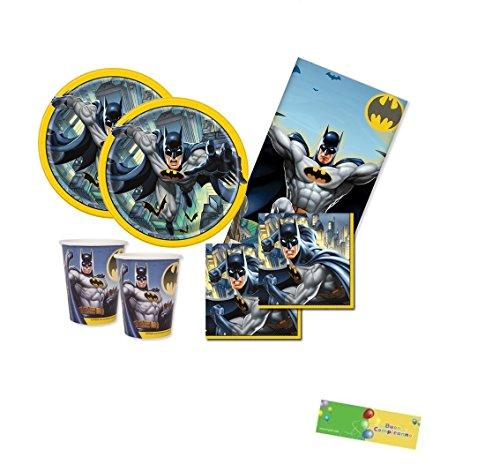 uni-que Kit n.16 Batman gotham coordinato compleanno