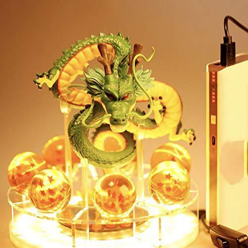 Festival Ausrüstung, Hauptdekoration,Bolly Super Saiyan Sun Wukong handgemachte Super drei frei, Shenlong USB mit Licht