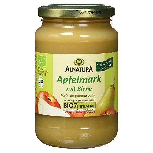 Alnatura Bio Apfelmark mit Birne, vegan, 360 g