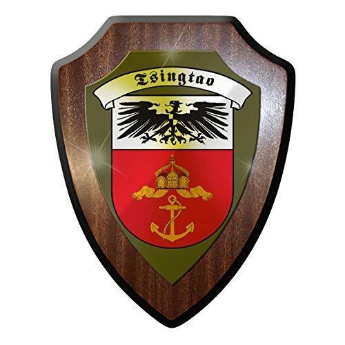 creativ-deluxe-wappenschild-blason-tsingtao-kiautschou-asie-deutsche-colonie-pachtgebiet-allemand-mo