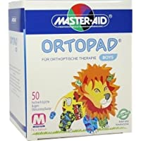 Ortopad for boys medium Augenokklusionspflaster, 50 St preisvergleich bei billige-tabletten.eu