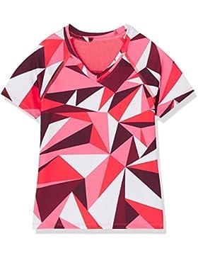 RED WAGON T-shirt Sportiva con Inserto in Mesh Bambina