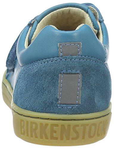 Birkenstock Davao Kinder, Baskets  mixte enfant Bleu (Petrol)