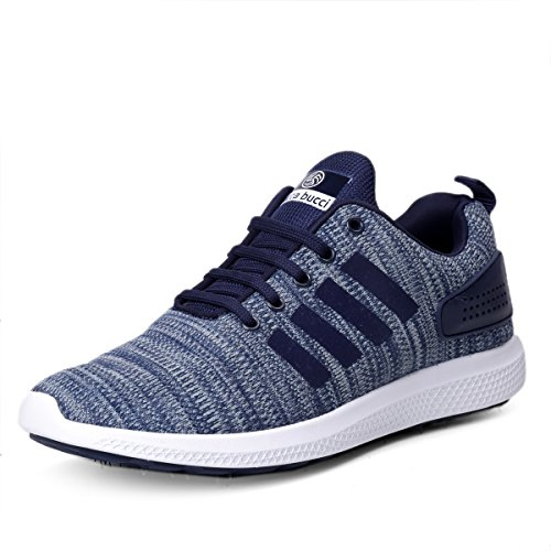 Bacca Bucci Men's Blue Running Shoes-UK10 (EU44) (BBMG8129B-10)