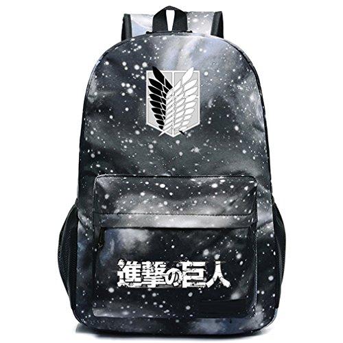 iff auf Titan Cosplay Luminous Schultasche College Rucksack Schultasche 6 (Angriff Auf Titan Armin)