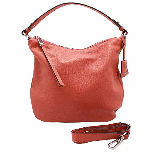 Abro Bucket Style Shoulder Handbag Orange