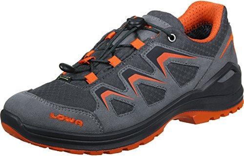 Lowa Innox Evo GTX Lo Junior Scarpa d'alpinismo da bambino grigio arancione