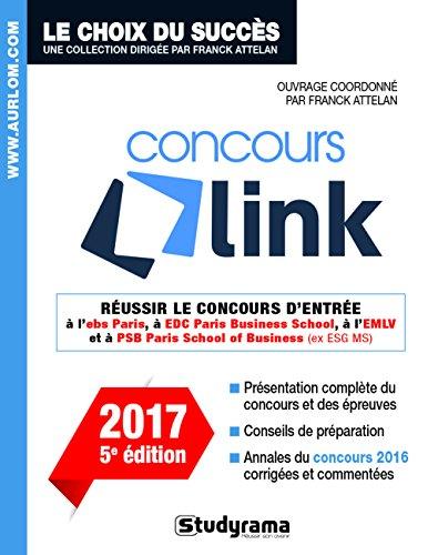 Réussir le concours link 2017