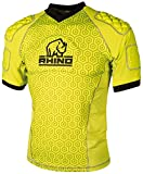 Rhino Haut Pro Body Protection jaune fluorescent, jaune/noir, Junior L