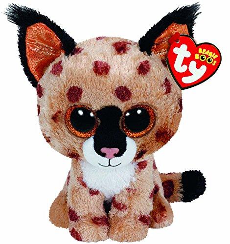 """Beanie Boo Lynx - Buckwheat - 15cm 6"""""""