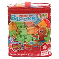 Blocks Intellect Big 70 Pieces - Multi Color