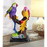 Tied Ribbons Resin Parrot Showpiece (12 x 12 x 23.1)