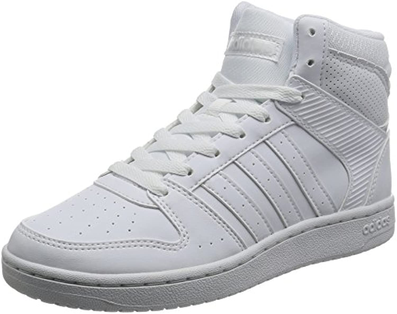 adidas VS HOOPSTER MID W - Zapatillas deportivas para Mujer, Blanco - (FTWBLA/FTWBLA/FTWBLA) 41 1/3