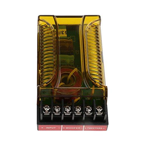 MagiDeal 120W Lautsprecher Audio Frequenzteiler Frequenzweiche 2 Wege Modul