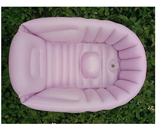 GAOJIAN Bañera inflable del bebé Bañera portable del bebé Baño Niños recién nacidos Espesamiento del aislamiento Pvc Bañera plegable , b