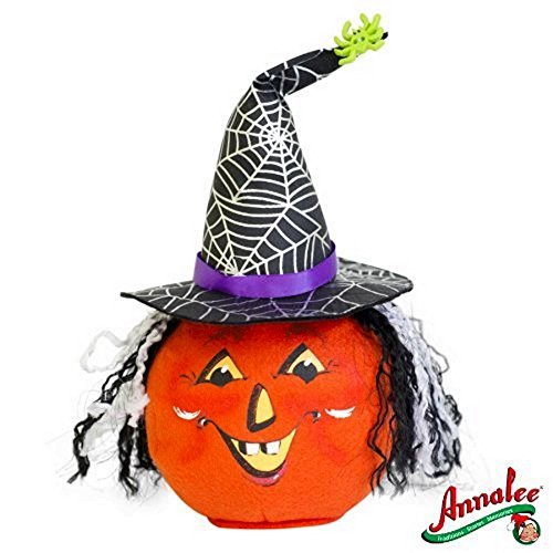 2012 Annalee Dolls 7 Witch Jack O' Lantern Ready for Halloween by Annalee Dolls (Annalee Dolls Halloween)