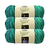 CARON SIMPLY SOFT PAINTS PACK OF 3-141G EACH - SPRING BROOK