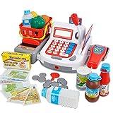Bakaji Registratore Di Cassa Per Bambini Gioco Educativo Cassetto Portamonete E Scanner