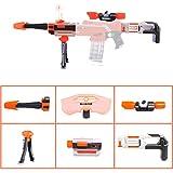 WORKER Kit - 6Pcs Lommer Accessoires Modifiés - Tête de Pistolet+Lunette de...
