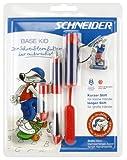 Schneider 50-76261 - Füllhalter Base Kid A Starterset Blister rot