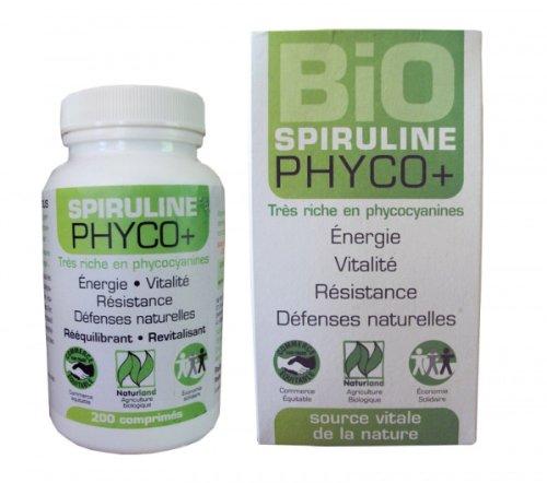 Spiruline Bio Phyco+ - 200 comprimés