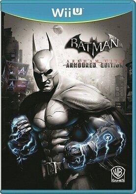 Wii U Batman: Arkham City -- Armoured Edition (PEGI) (City Wii U-arkham)