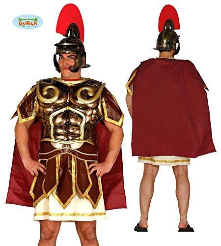 Fiestas Guirca GUI18530 - Spantaner-Waffenrock mit Kappe (Römische Brustpanzer Erwachsene Kostüme)