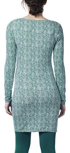 Noppies Damen Tunika Umstandskleid Tunic nurs ls Flo AOP Mehrfarbig (Bottle C177)
