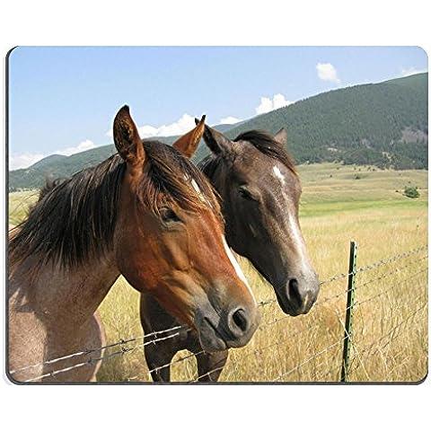 MSD-Tappetino per mouse in gomma naturale, gioco ID 5621585 bellissima immagine: gruppo di cavallo al (Immagine Gruppo)