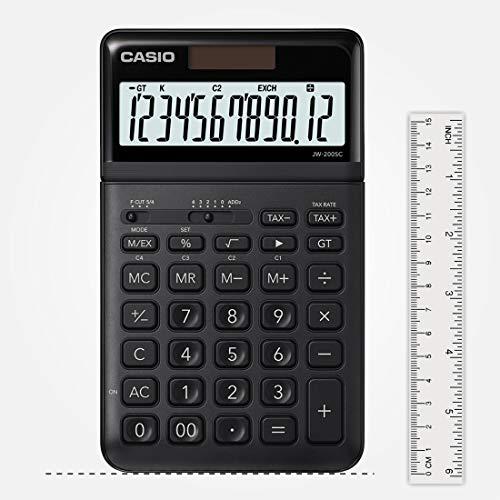 Casio JW-200SC-BK Desktop Calculator (Black)