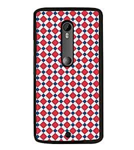 Fiobs Designer Back Case Cover for Motorola Moto X Style :: Moto X Pure Edition (jaipur rajasthan african america cross pattern)